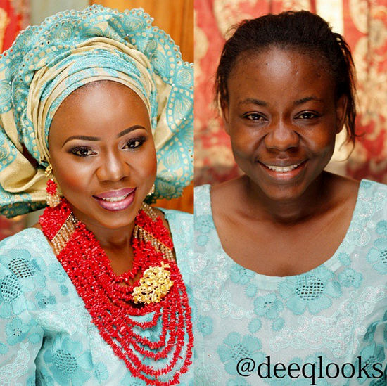 LoveweddingsNG Before meets After Makeovers - Dee Q Looks