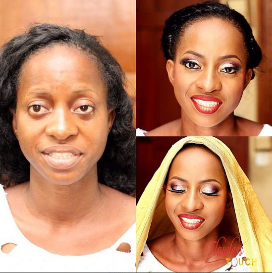 LoveweddingsNG Before meets After Makeovers - Flawless Touch Makeover