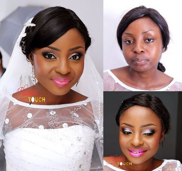 LoveweddingsNG Before meets After Makeovers - Flawless Touch Makeovers