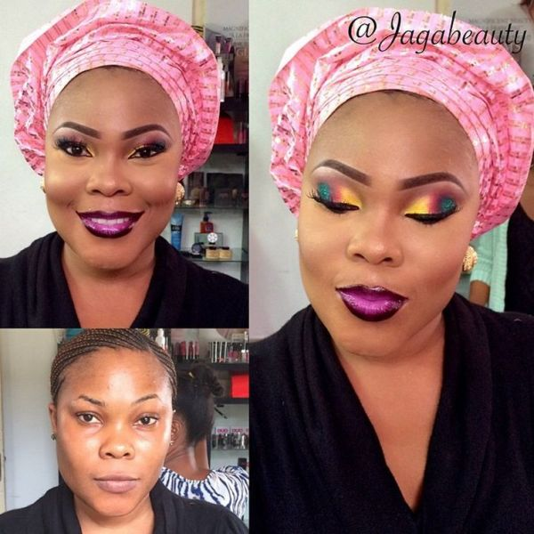 LoveweddingsNG Before meets After Makeovers - Jaga Beauty