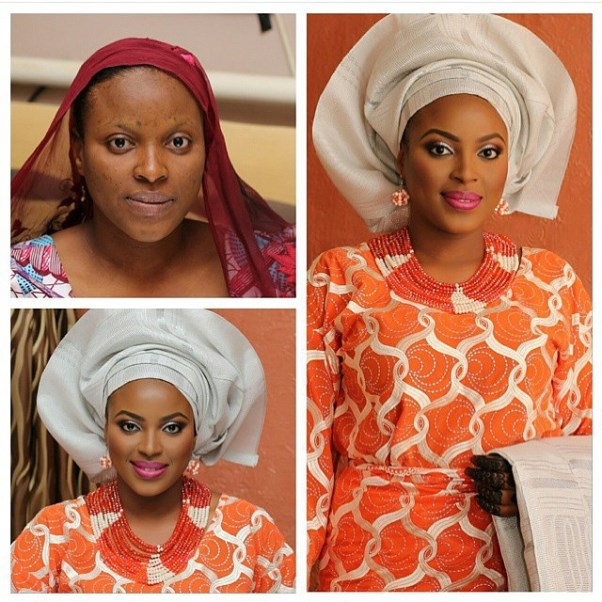 LoveweddingsNG Before meets After Makeovers - Layy Ajay