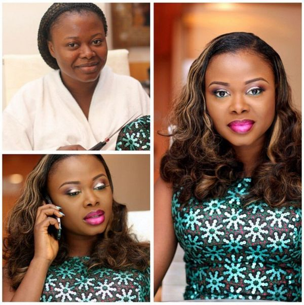 LoveweddingsNG Before meets After Makeovers - Makeup by Ashabee1