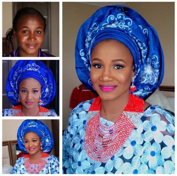 LoveweddingsNG Before meets After Makeovers - Mamza Beauty