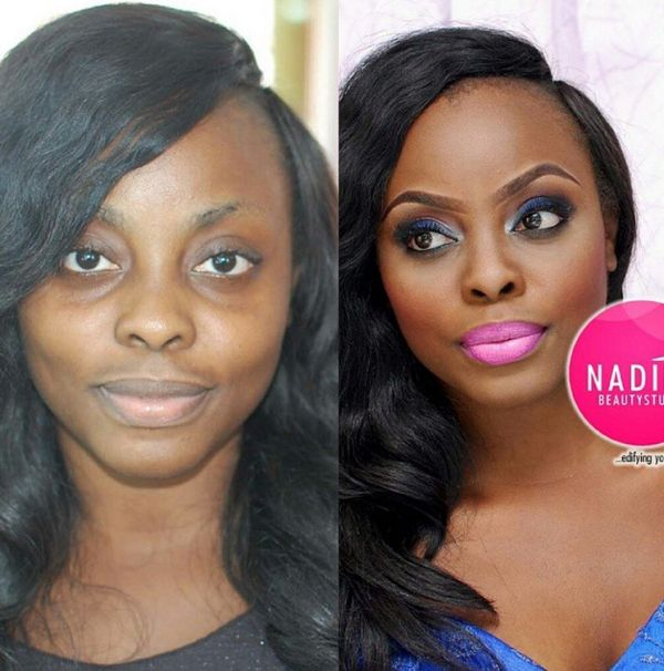 LoveweddingsNG Before meets After Makeovers - Nadi Saruba