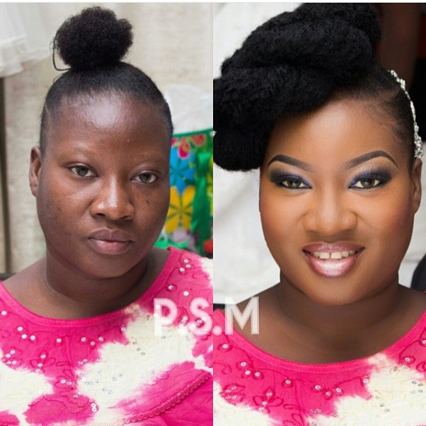 LoveweddingsNG Before meets After Makeovers - Prospotted Makeover