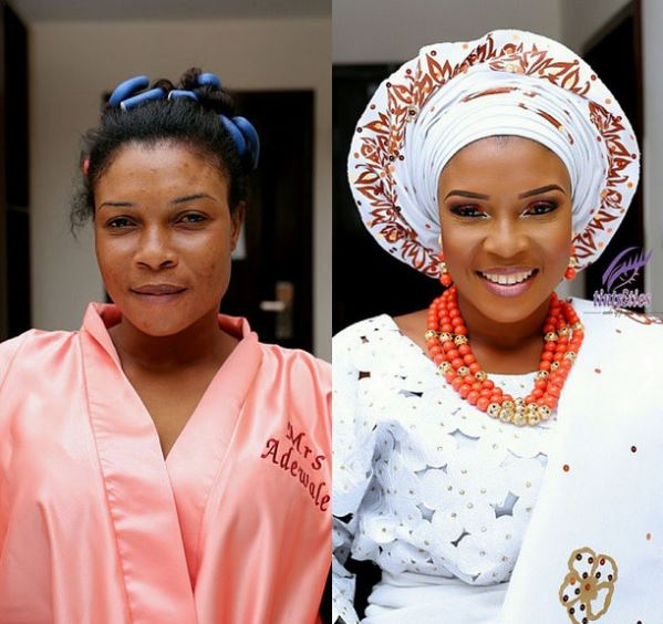 LoveweddingsNG Before meets After Makeovers - Tints Makeup Pro