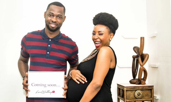 Motilayo & Banji … From The Knot…. to the Bump