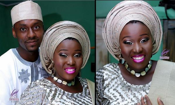 Makeup Artist – Zainab Azeez weds Damilola: First Pictures