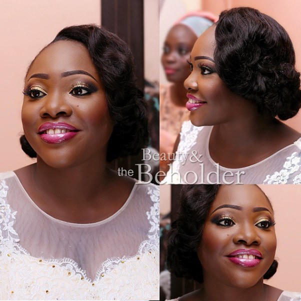 Nigerian Bridal Hair Inspiration LoveweddingsNG - Beauty and the Beholder Makeovers