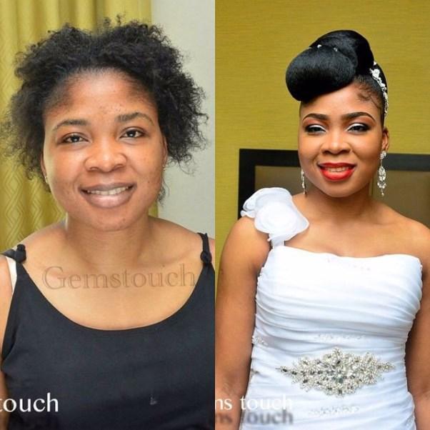 Nigerian Bridal Hair Inspiration LoveweddingsNG - Gemstouch