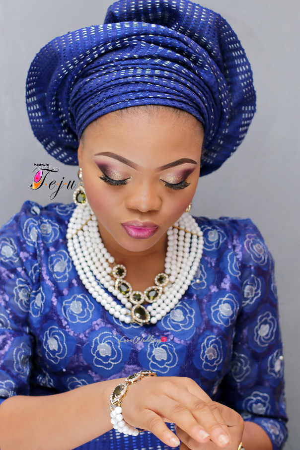 Nigerian Bridal Makeup Inspiration Makeover by Teju - LoveweddingsNG1