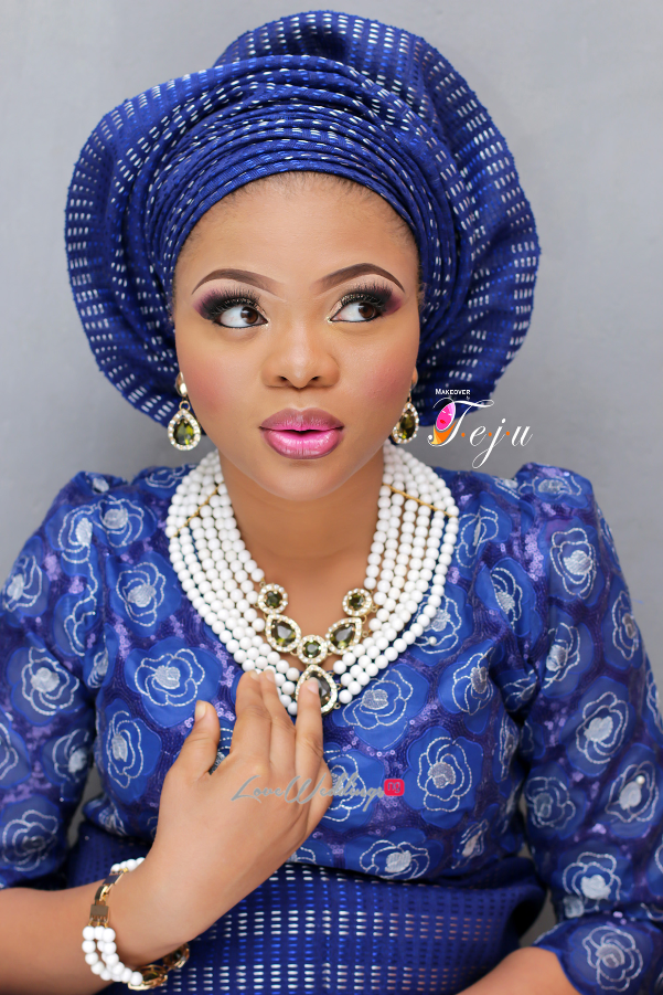 Nigerian Bridal Makeup Inspiration Makeover by Teju - LoveweddingsNG3