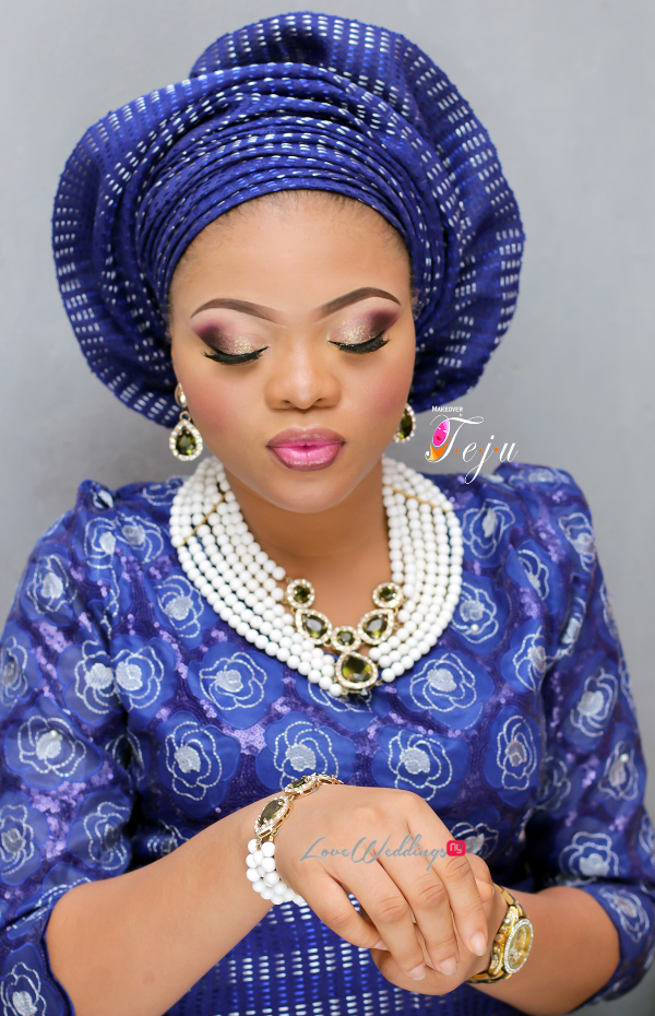 Nigerian Bridal Makeup Inspiration Makeover by Teju - LoveweddingsNG4