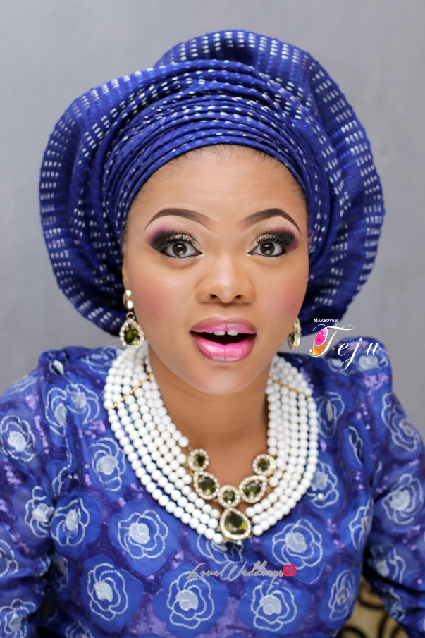 Nigerian Bridal Makeup Inspiration Makeover by Teju - LoveweddingsNG7