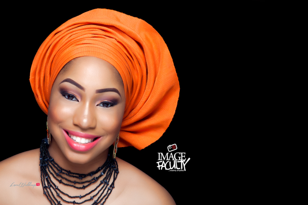Nigerian Traditional Makeup - Image Faculty LoveweddingsNG