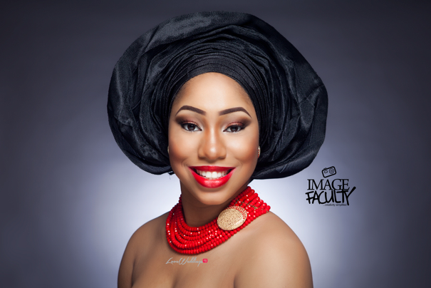 Nigerian Traditional Makeup - Image Faculty LoveweddingsNG2