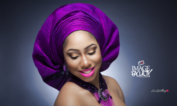 Nigerian Traditional Makeup - Image Faculty LoveweddingsNG3