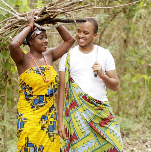 Nigerian Tribal Prewedding Shoot - LoveweddingsNG