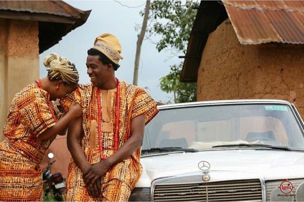 Nigerian Tribal Prewedding Shoot - Lypix Photography LoveweddingsNG
