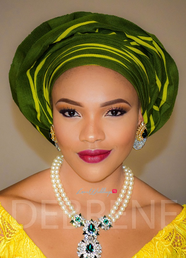 Nigerian Wedding Guest - Anita Uwagbale LoveweddingsNG