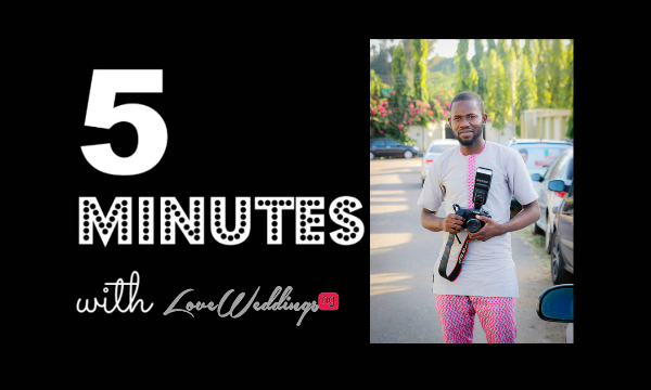 5 Minutes With… Godwin| Godwin Oisi Photography