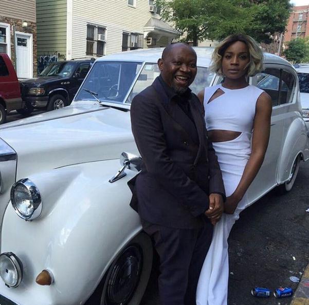 Gbenro Ajibade Osas Ighodaro White Wedding LoveweddingsNG - Seyi Shay