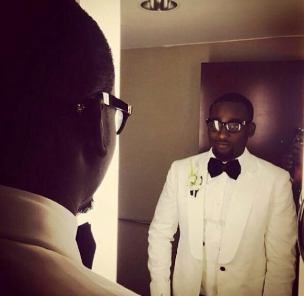 Gbenro Ajibade Osas Ighodaro White Wedding LoveweddingsNG11