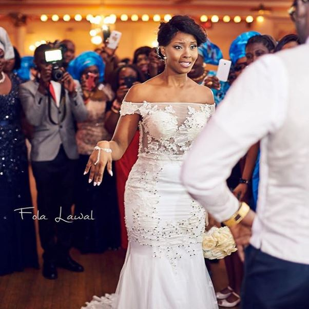 Gbenro Ajibade Osas Ighodaro White Wedding LoveweddingsNG16