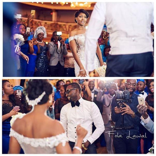 Gbenro Ajibade Osas Ighodaro White Wedding LoveweddingsNG17