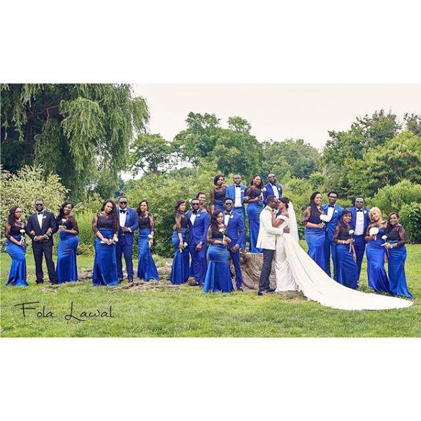 Gbenro Ajibade Osas Ighodaro White Wedding LoveweddingsNG19