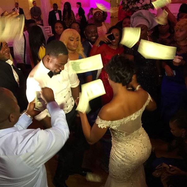 Gbenro Ajibade Osas Ighodaro White Wedding LoveweddingsNG2