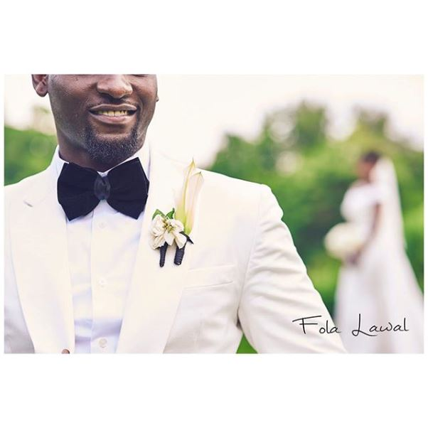 Gbenro Ajibade Osas Ighodaro White Wedding LoveweddingsNG22