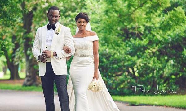 Gbenro Ajibade Osas Ighodaro White Wedding LoveweddingsNG23