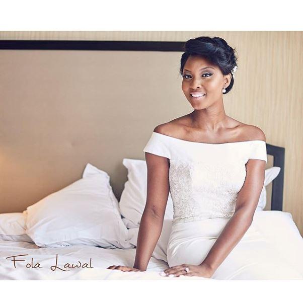 Gbenro Ajibade Osas Ighodaro White Wedding LoveweddingsNG24