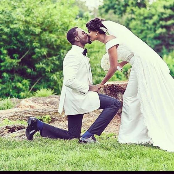 Gbenro Ajibade Osas Ighodaro White Wedding LoveweddingsNG25