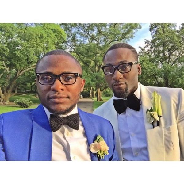 Gbenro Ajibade Osas Ighodaro White Wedding LoveweddingsNG26