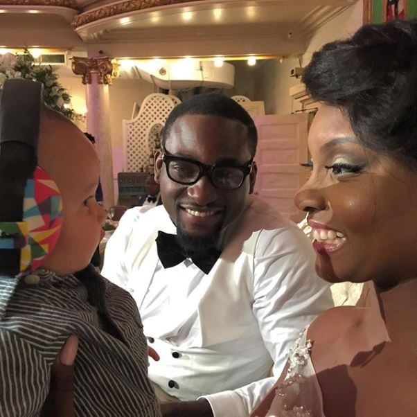 Gbenro Ajibade Osas Ighodaro White Wedding LoveweddingsNG3