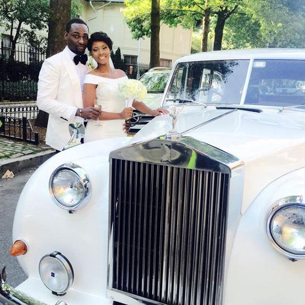 Gbenro Ajibade Osas Ighodaro White Wedding LoveweddingsNG30