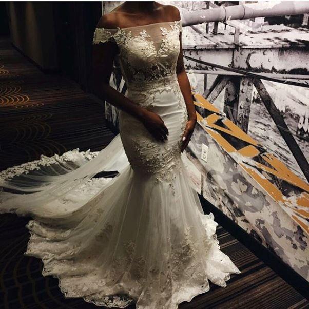 Gbenro Ajibade Osas Ighodaro White Wedding LoveweddingsNG4