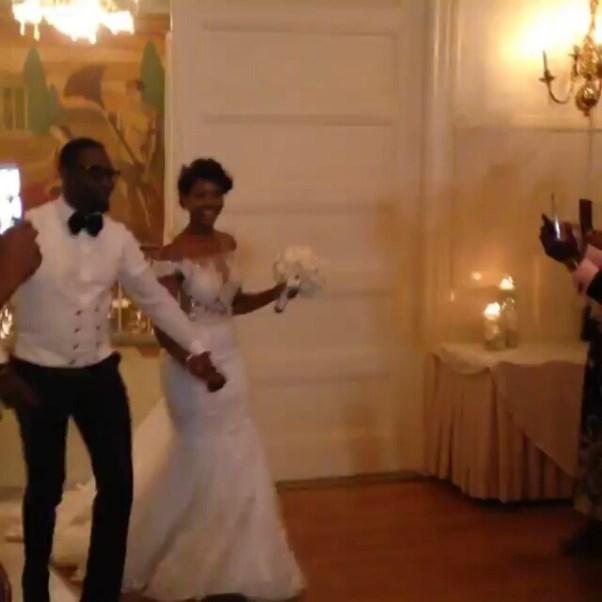 Gbenro Ajibade Osas Ighodaro White Wedding LoveweddingsNG5