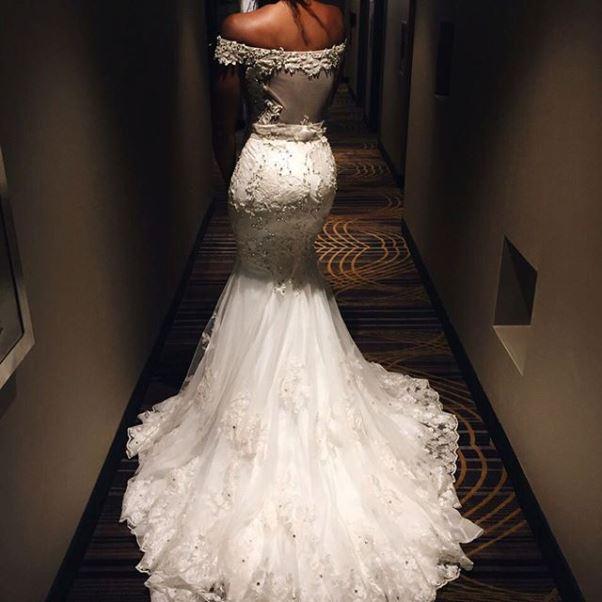 Gbenro Ajibade Osas Ighodaro White Wedding LoveweddingsNG6