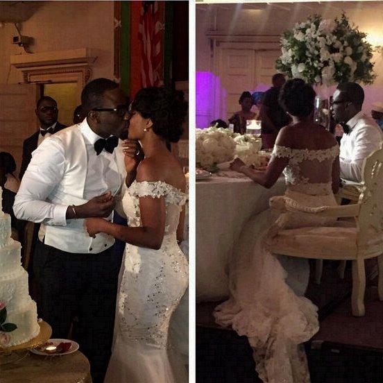 Gbenro Ajibade Osas Ighodaro White Wedding LoveweddingsNG7