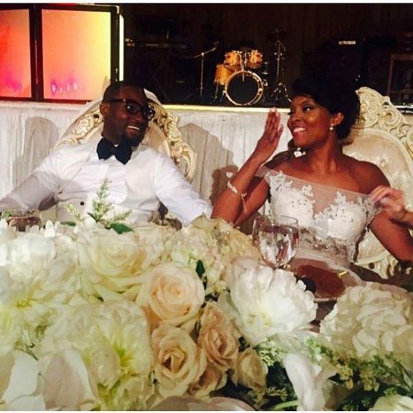 Gbenro Ajibade Osas Ighodaro White Wedding LoveweddingsNG8