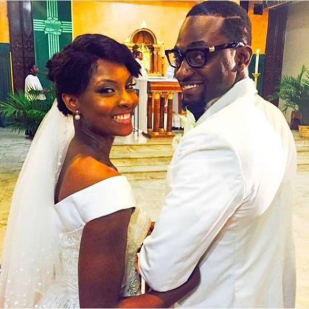 Gbenro Ajibade Osas Ighodaro White Wedding LoveweddingsNG9