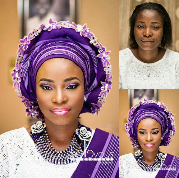 LoveweddingsNG Before and After Bellevous Makeovers