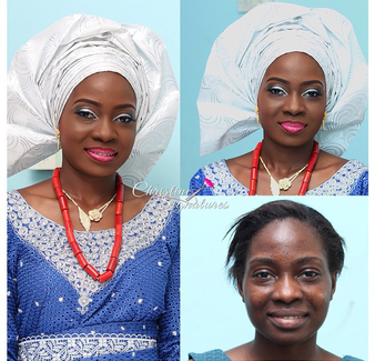 LoveweddingsNG Before and After - Christine Signatures