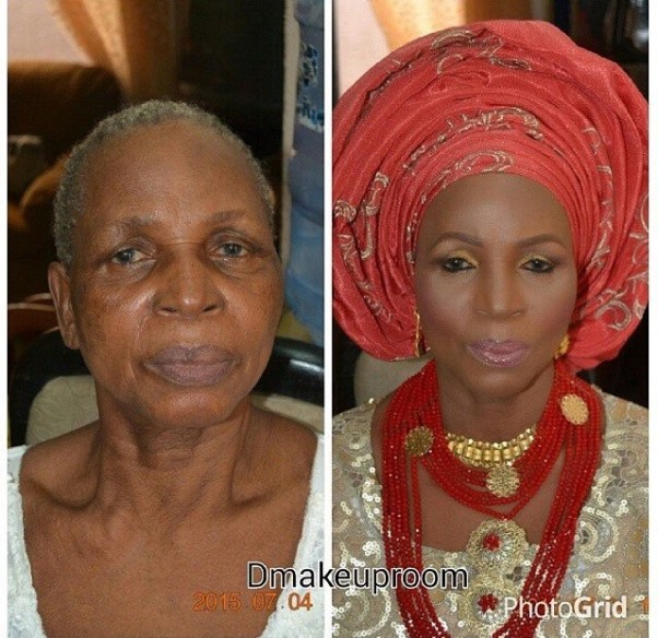 LoveweddingsNG Before and After Dmakeuproom