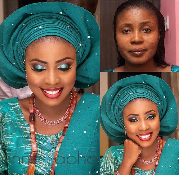 LoveweddingsNG Before and After Ennieyapha