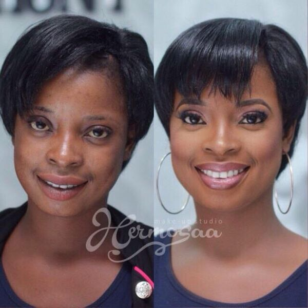 LoveweddingsNG Before and After - Hermosaa