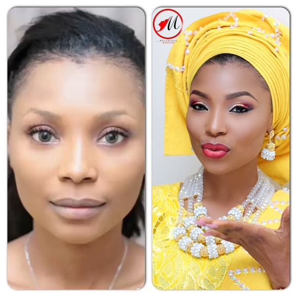 LoveweddingsNG Before and After - Molurlah's Makeover